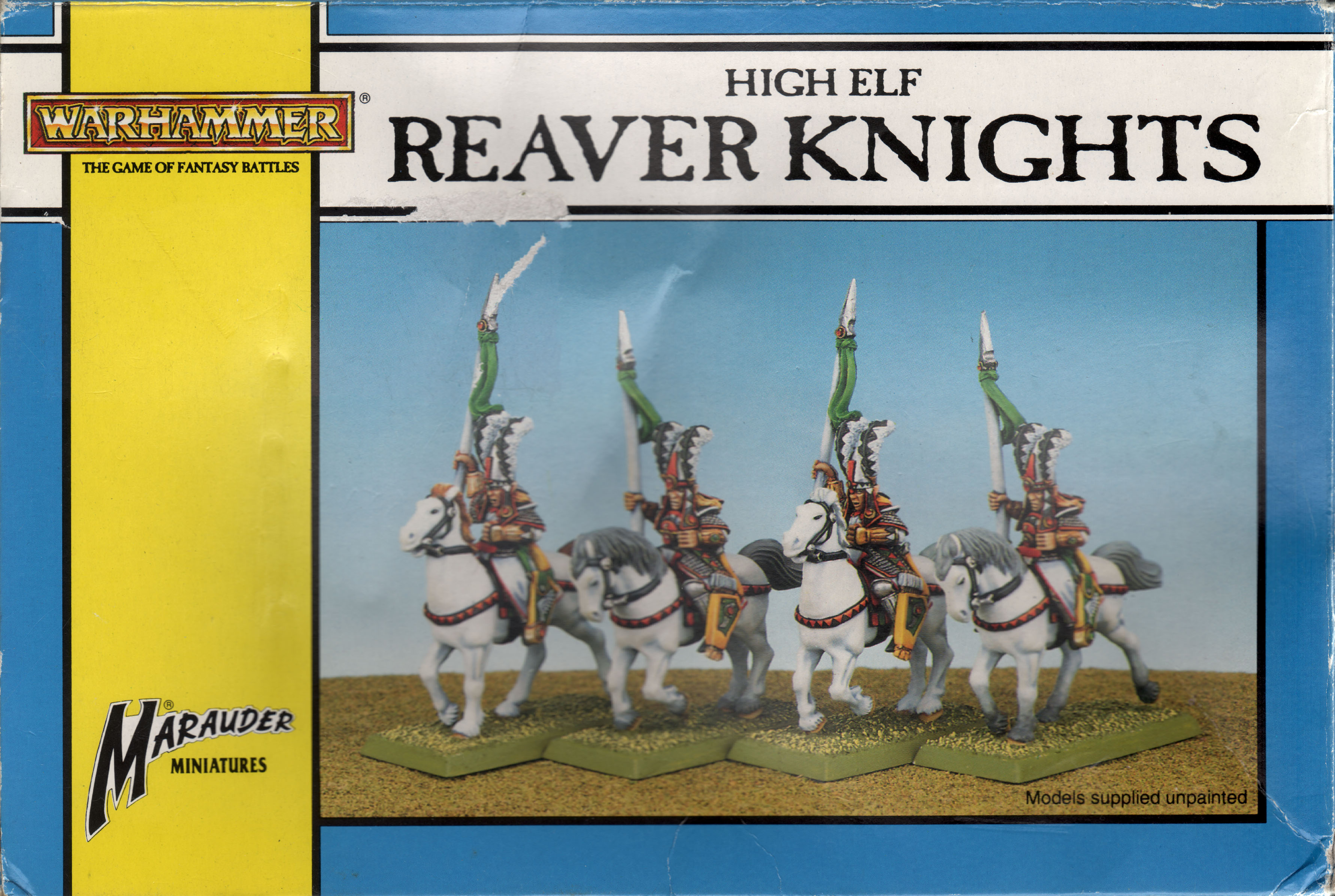 Oldhammer High Elves Reaver Knight 2 First version